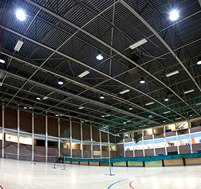 Goodlight LED High Bay Installation in Montem Leisure Centre