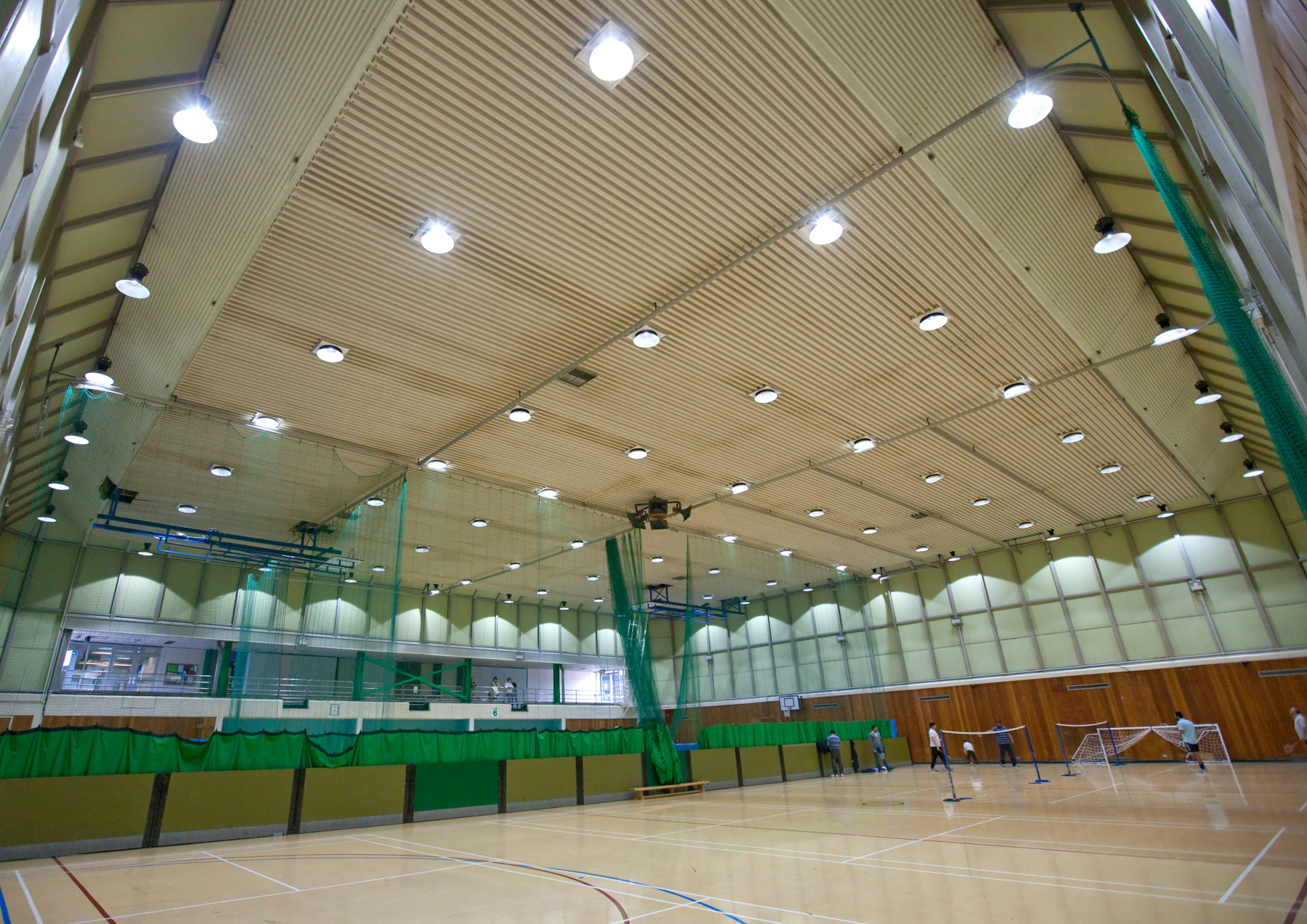 Goodlight LED High Bay Install High Wycombe Leisure Centre Sports Hall