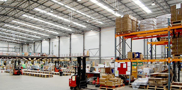 ESPO Goodlight LED High Bays Distribution Centre