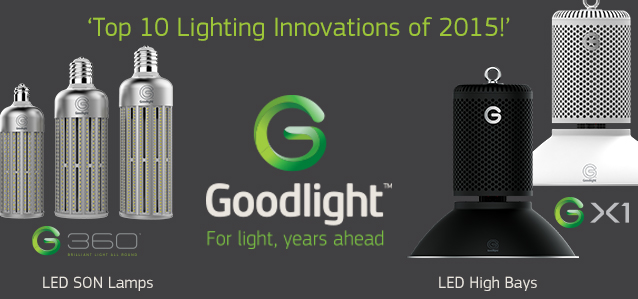 Goodlight gx1 g360 on top 10 lighting innovations of for Top ten lighting companies