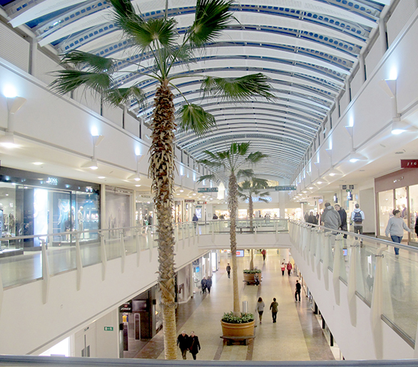 Goodlight LED PL Lamps in The Mall Cribbs Causeway Bristol