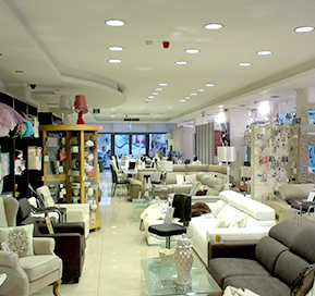 Goodlight LED Light Discs in B4 Textiles Fgura Home furniture
