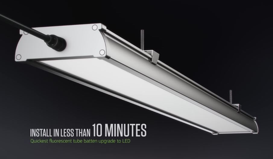 G5 LED Batten install in less than 10 minutes