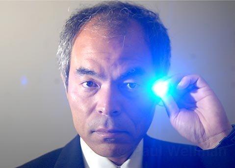 Shuji Nakamura invented the first LED lamp