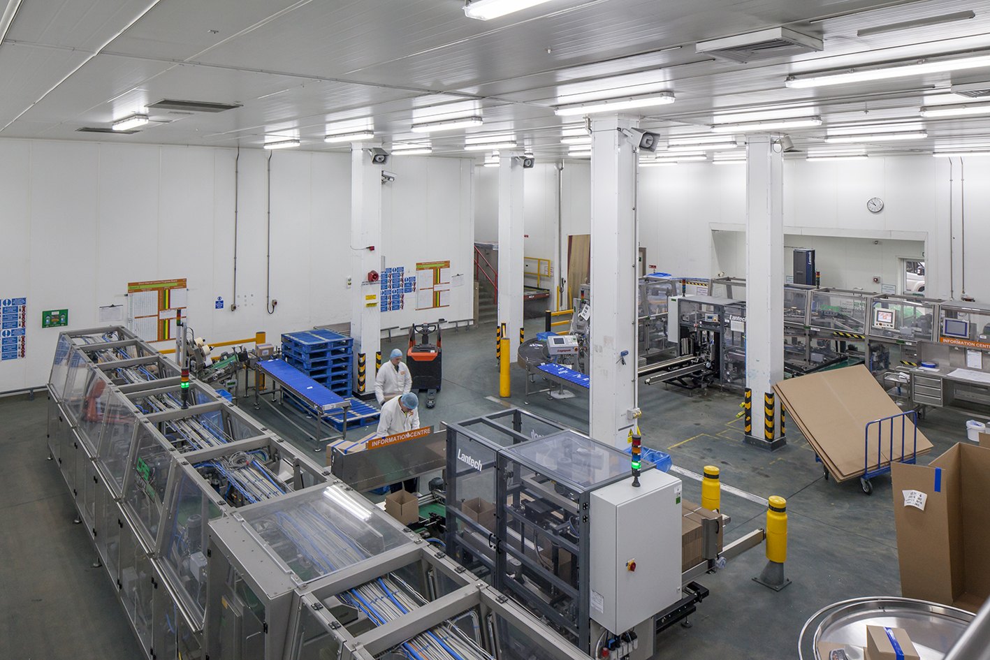 Quorn Foods Upgrades To Fluorescent Free Led Lighting