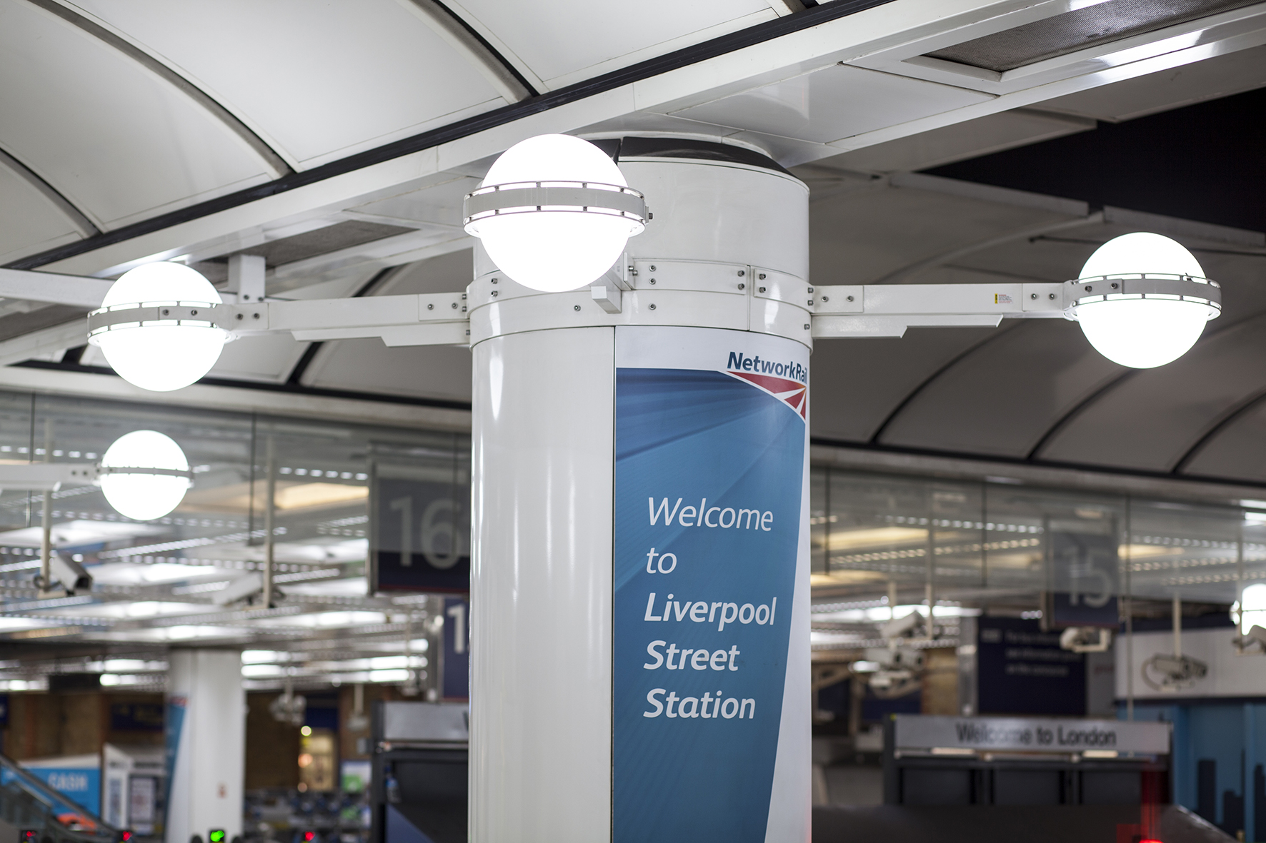 Liverpool Street Station Installs Goodlight Led Lighting