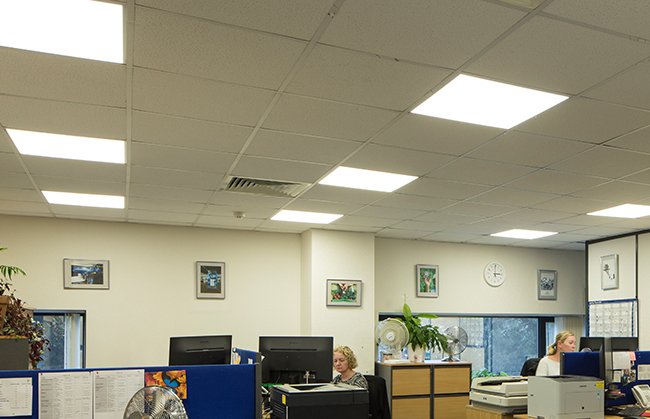 energy efficient led lighting for offices the working environment