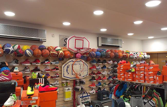 LED Lighting for Athletic & Sports Shops - Goodlight