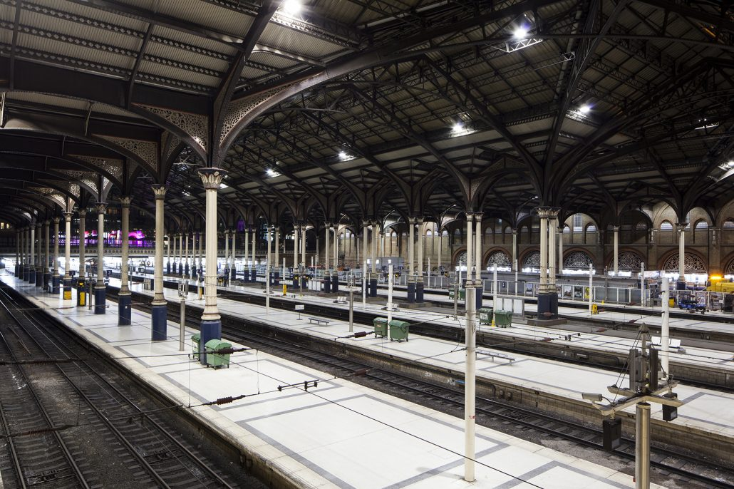 LED Lighting for Train Station Platforms
