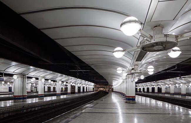 Led Lighting For Train Station Platforms
