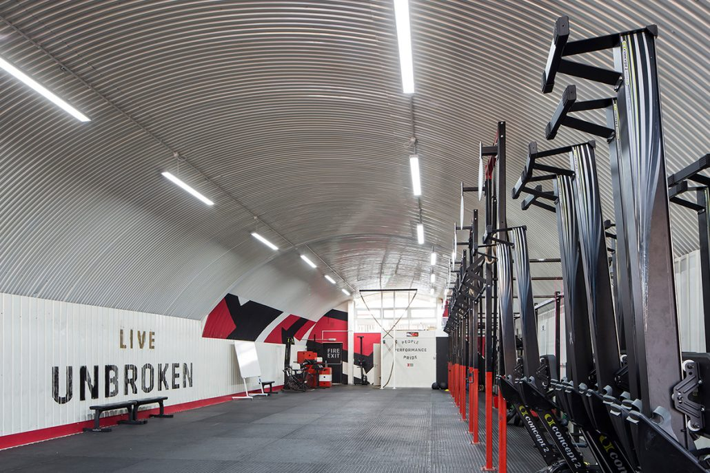 Led Lighting For Gyms Fitness Clubs Sports Centres