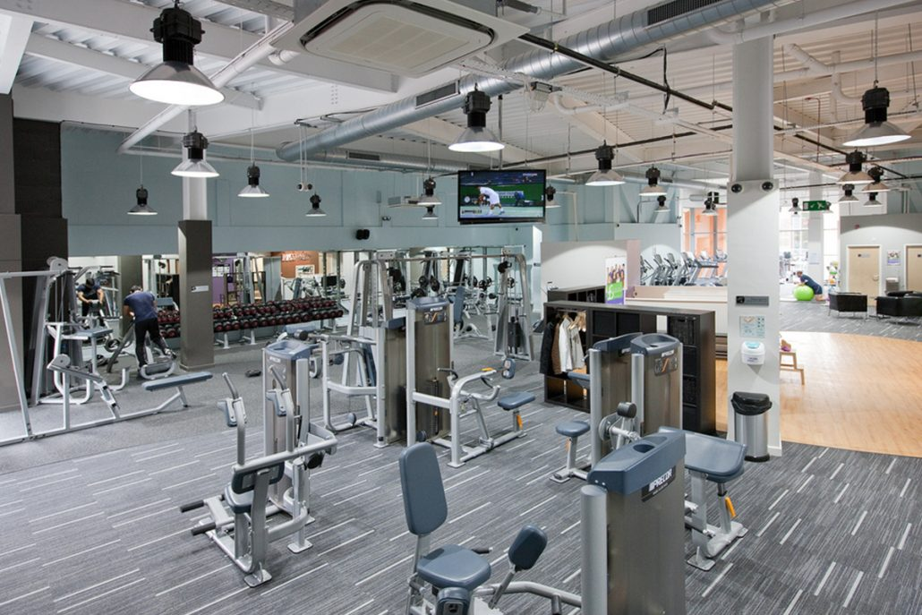 Led lighting for gyms fitness clubs sports centres health clubs