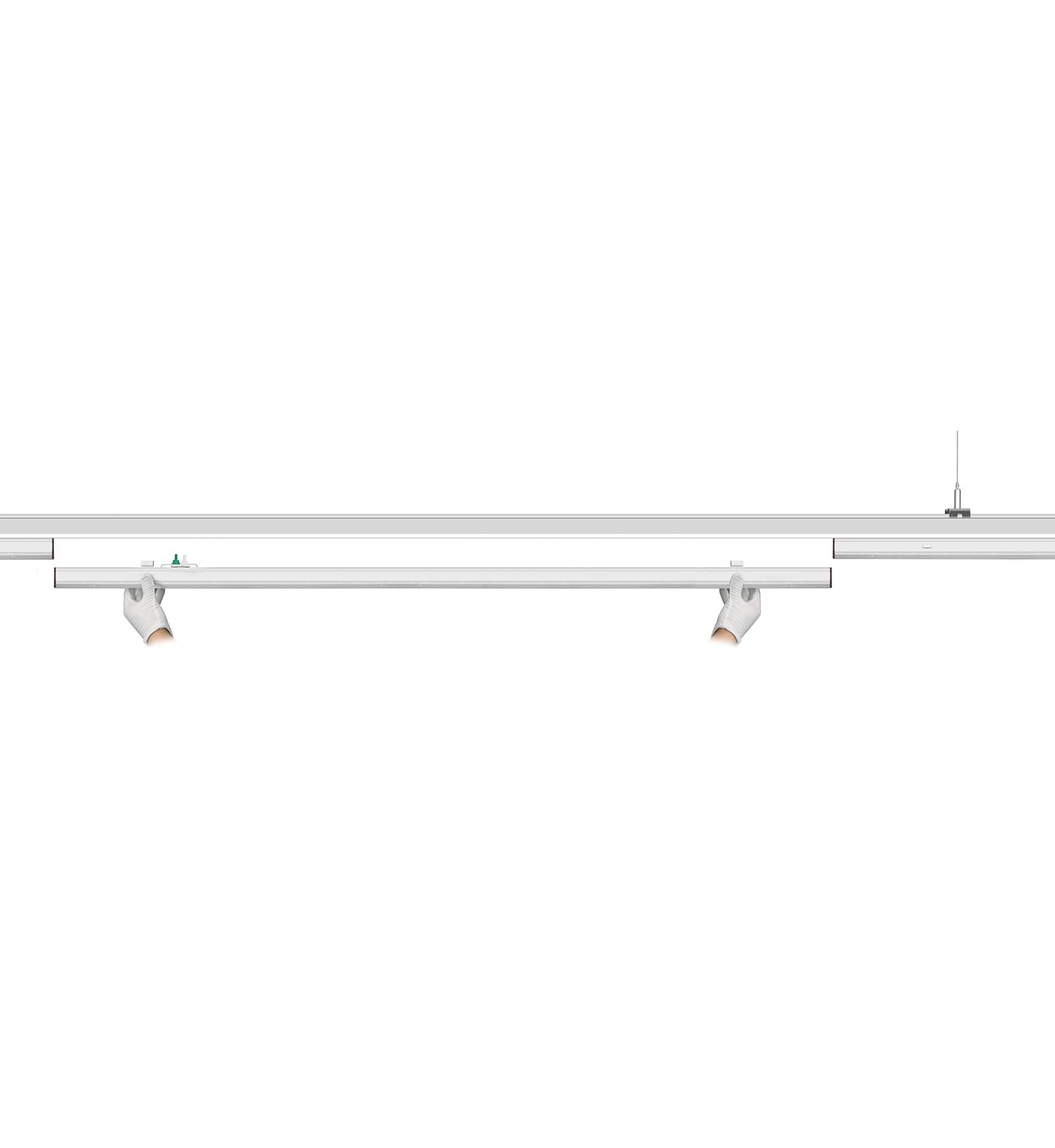 Unify Led Linear Continuous Row Lighting System Goodlight