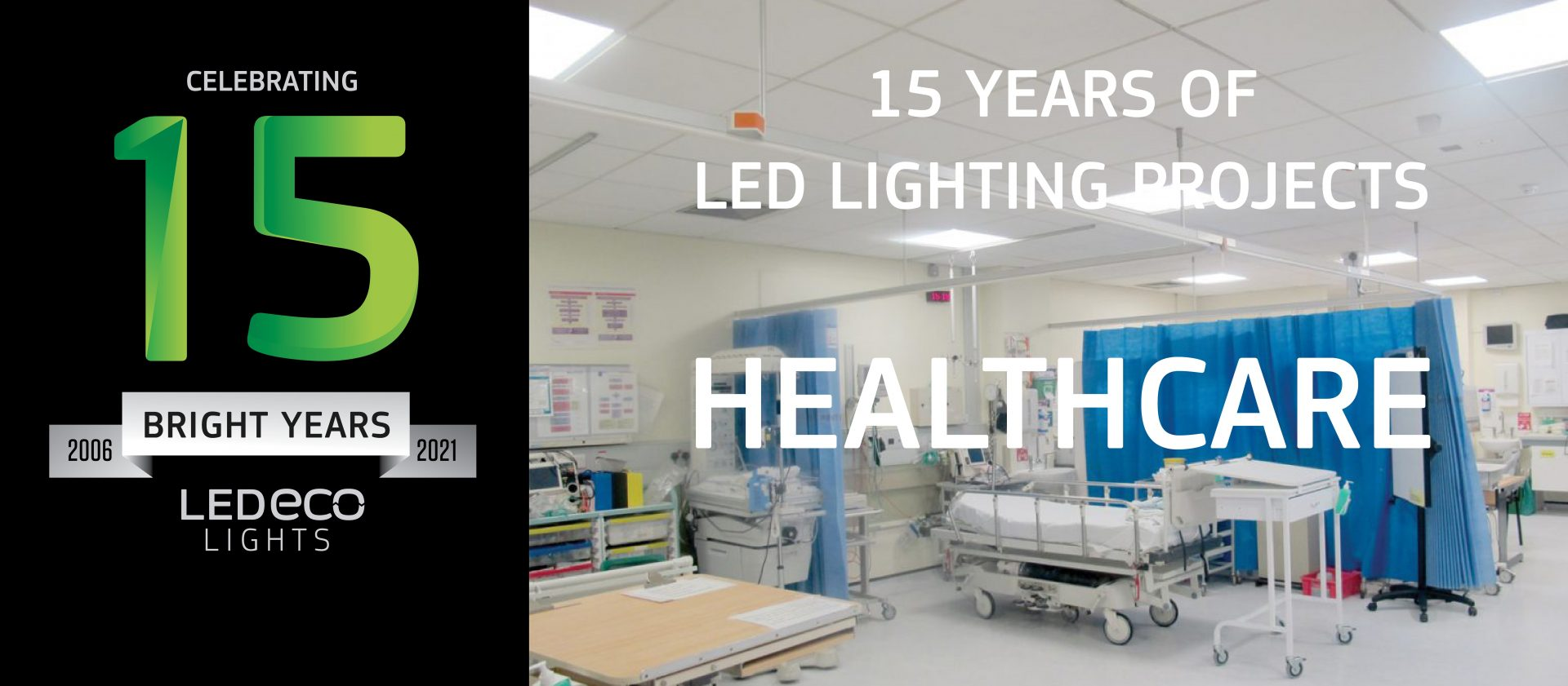 15 years of LED lighting projects